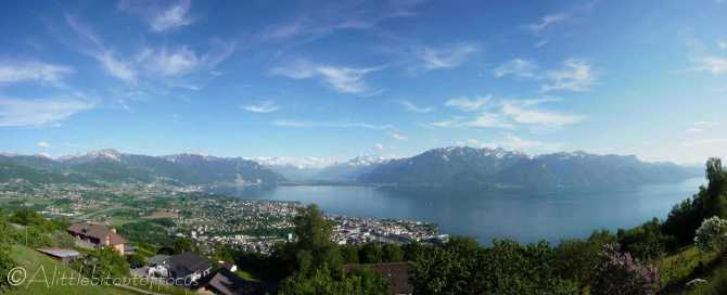 15 View of Lac Léman from our apartment