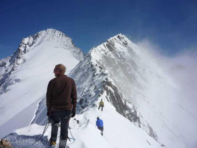 18 The ridge to the Grunegghorn