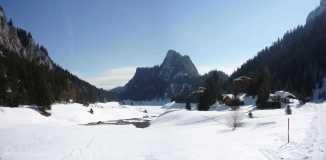 22 Lac de Tanay in winter