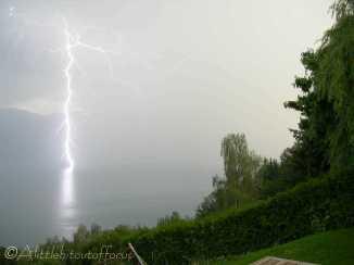 4 Lightning Strike, Lac Léman (Lake Geneva)