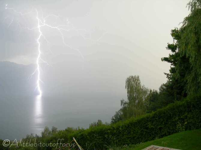 4 Lightning Strike, Lac Léman (Lake Geneva)