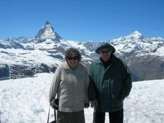 6 Mum and Dad, Gornergrat, nr Zermatt