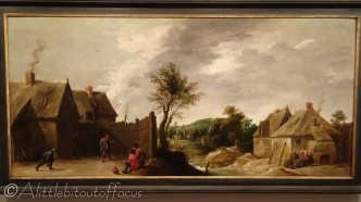14 The Skittle Players - D Teniers II