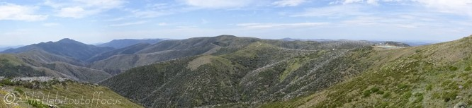 17 Feathertop (L), Mt Loch (Centre)