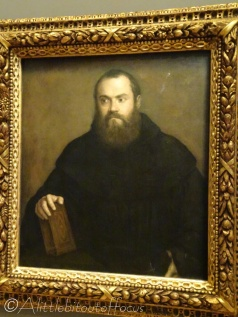 22 The Monk with a Book - Titian