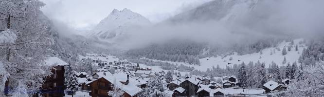 8 Valley view from our chalet