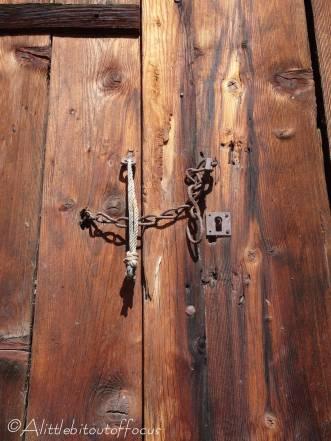 22 Old door