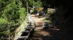 13 Wooden trough