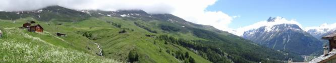 13 Alpage above Evolène