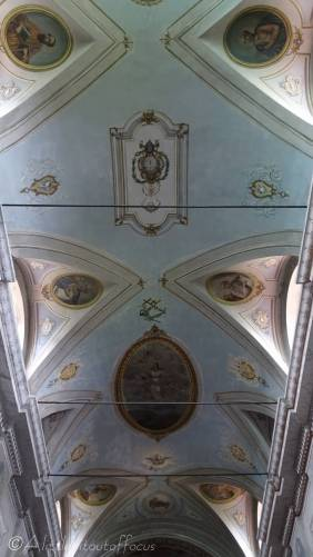 9 Church of St Julie ceiling
