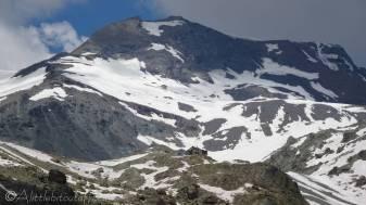 13 Aiguilles Rouge Hut beneath Mont de l'Etoile