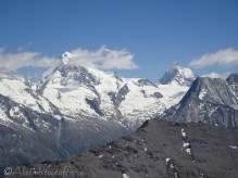 17 Dent Blanche (L), Matterhorn (R)