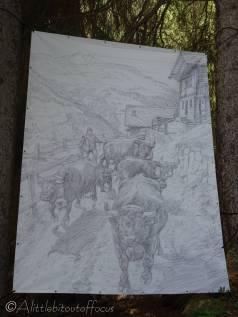 9 D'Hérens cows