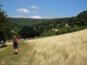 1 Approaching North Lees Hall