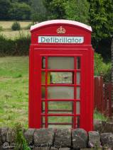 12 Recycled phone box