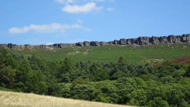 2 Stanage Edge from below