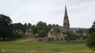 4 Edensor and church