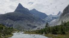 4 Mont Miné and the Ferpècle valley