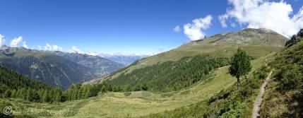 5 Panoramic view north