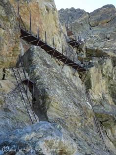 15 Pas de Chevres ladders