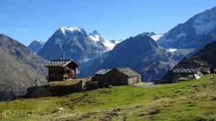33 Mont collon from Remointse de Pra Gra