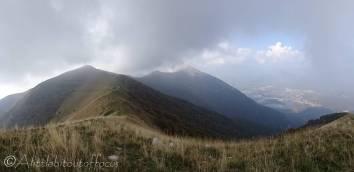 10 Mount Tremezzo (L) from Mt Crocione