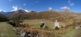 3 Barralhaus (L) Altes Spittel (R), Simplon Pass
