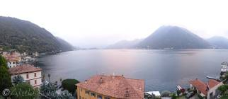 4 Lake Como from apartment, Aregno