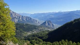 4 Ovronnaz, L'Ardève and Rhone valley