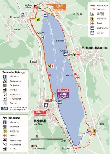 9 Race route