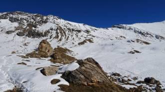 13 Sassenaire (3,254m, 10,676ft) and the Col de Torrent