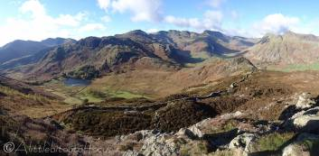 13 View west (Blea Tarn below)