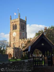17 Eccleshall church