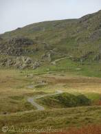 6 Walna Scar road and path to Brown Pike