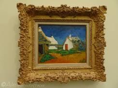 16 Vincent van Gogh - Cottages at Saintes-Maries