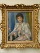 18 Pierre-Auguste Renoir - Young Woman in White