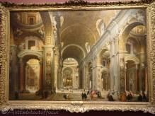 3 Giovanni Panini - Interior of St Peter's, Rome