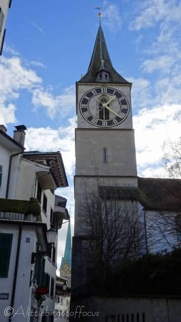 4 St Peter's church clock tower