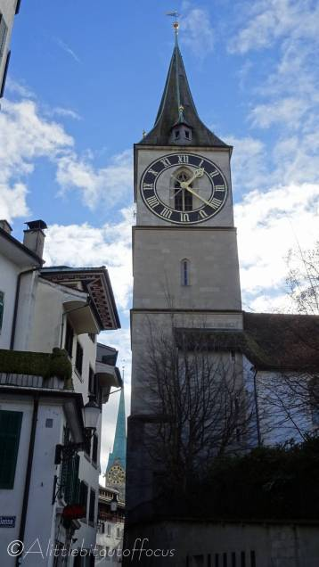 4 St Peter's church clock tower
