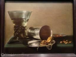 6 Pieter Claesz - Still life with berkemeyer and gold pocket watch