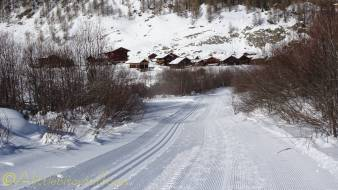 14 cross country piste near satarma