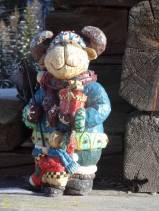 24 wooden bear