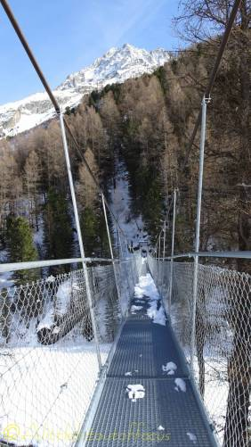 8 monta suspension bridge