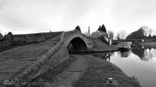 16 Haywood Junction Bridge (b&w)