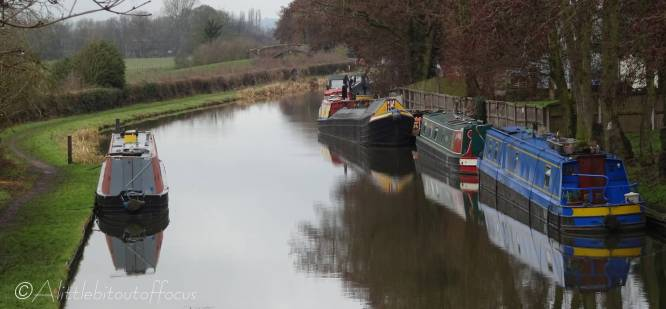 18 Canal boats