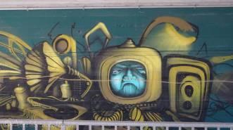 21 Underpass graffitti
