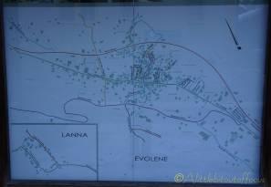 25 Evolène village map