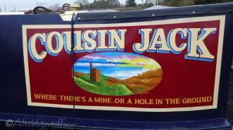 5 Canal boat sign