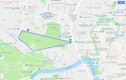 1.5 Krakow Parkrun course