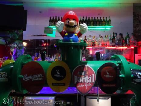 10 Super Mario at the Games pub